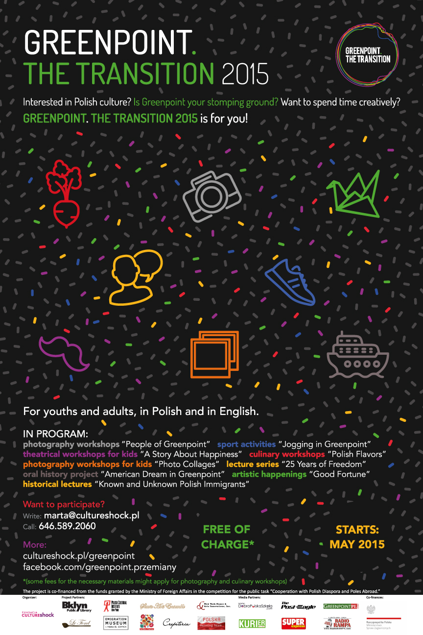 Greenpoint. The Transition 2015 - poster