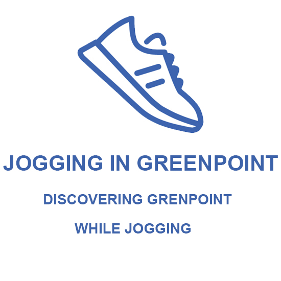 Jogging in Greenpoint