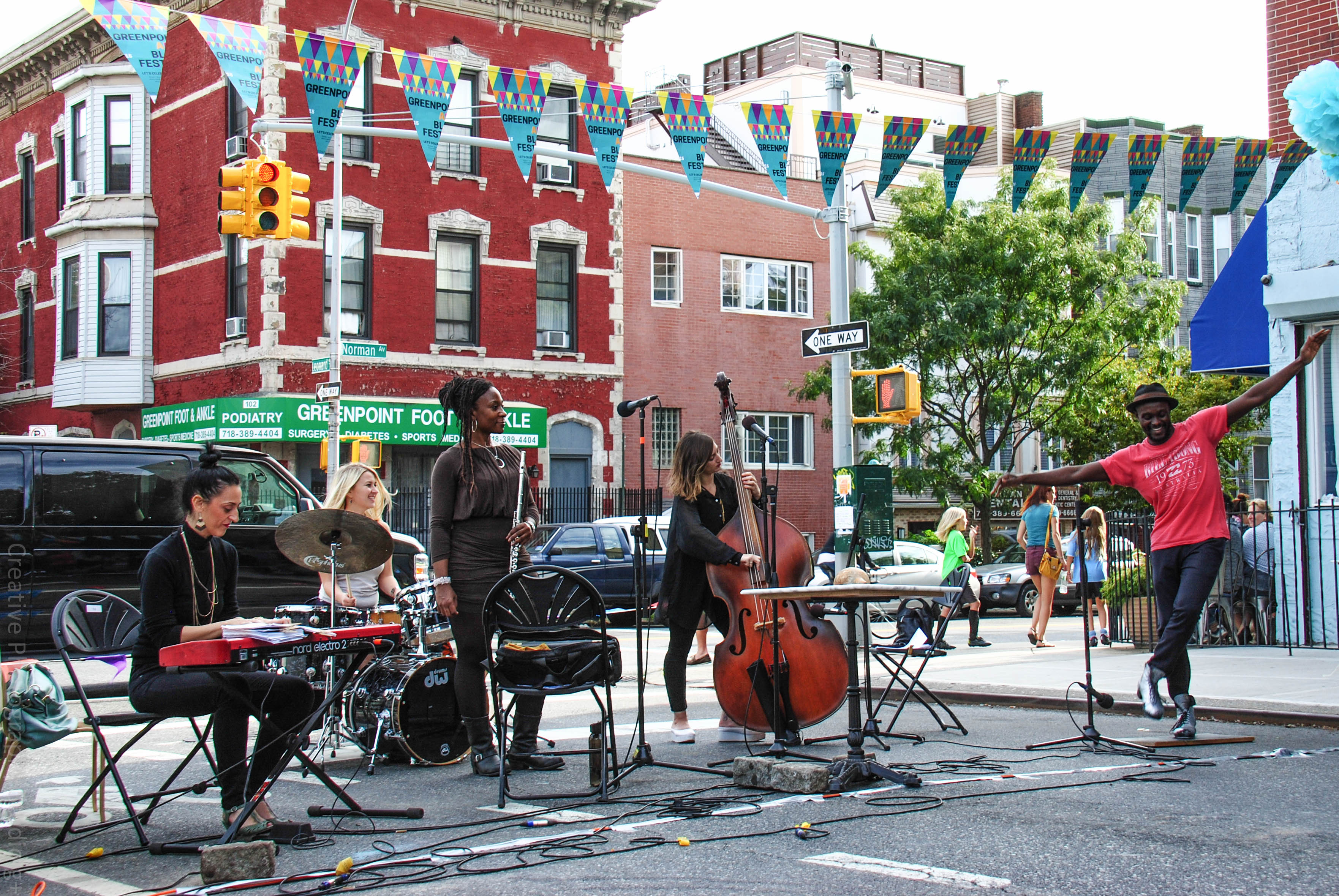 Święto Greenpointu – festiwal ulicy